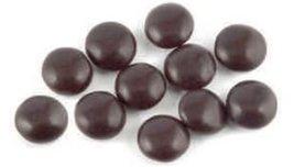 Pure Milk Chocolate Gems - White -15Lbs - $150.60