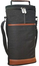 Wine Travel Carrier Cooler Bag And Bottle Carrying Tote Insulated Champagne - $33.59