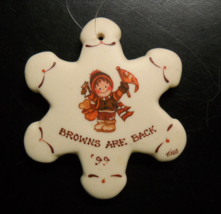 Titus Christmas Ornament 1999 The Browns Are Back Brown Orange Clad Chil... - $8.99