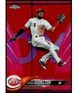 2018 Topps Chrome Refractors Pink #15 Billy Hamilton Reds NM-MT  - $2.40