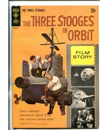 THREE STOOGES IN ORBIT #30016-211 1962-GOLD KEY-FILM STORY-25¢ COVER PRICE-fn/vf