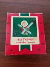 "1986 VINTAGE HALLMARK KEEPSAKE CHRISTMAS ORNAMENT, ""SKI TRIPPER"" -   - $2.97"