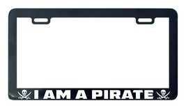 I am a pirate license plate frame holder tag - $5.99