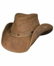 Bullhide HIDDEN PLEASURES Women's Leather Cowboy Hat Size M, L, XL - $79.99+
