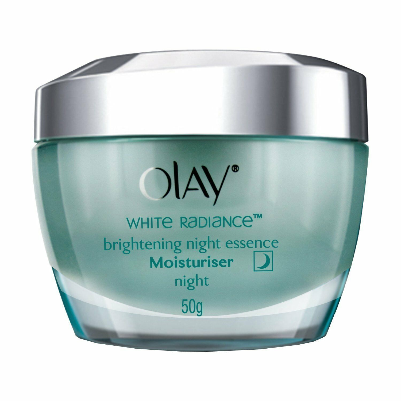 Olay White Radiance Advanced Whitening Night Essence Skin Cream Moisturizer, 50g - $27.70