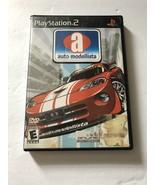 Auto Modellista Sony Playstation 2 PS2 (Capcom, 2003) *DISC NOT WORKING* - $5.93