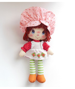 Scented Strawberry Shortcake Stuffed Plush Rag Doll Yarn Hair IP Holdings - $21.95