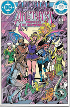 Amethyst Comic Book Maxi-Series Annual #1 Dc Comics 1984 Near Mint New Unread - $4.50