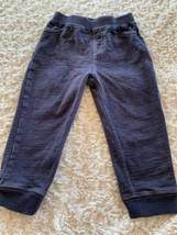 Koala Baby Boys Faux Denim Elastic Waist Jogger Pants 18-24 Months 2T - $6.43