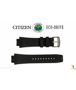 Citizen 59-S52077 22mm Original Black Rubber Watch Band BM0981-08E BJ513... - $79.95