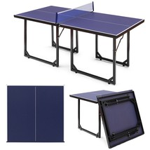 Multi-Use Foldable Midsize Removable Compact Ping-pong Table - $300.00