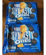 2 Oreo NBA Dynasty Sandwich Cookies LIMITED EDITION 12.2 OZ EXP 10/21 - $14.85