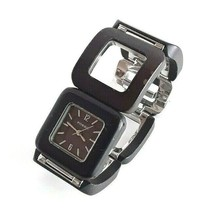 Fossil F2 Woman's Watch - ES-1653 Brown Wood, All Stainless Steel - $23.22