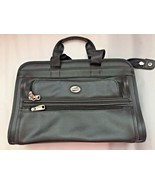 American Tourister Leather Laptop Briefcase Bag Black - $29.70