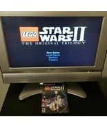 PS2 LEGO Game Lot - Star Wars II + Indiana Jones (PlayStation 2, Black L... - $18.95