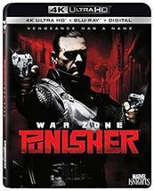 Punisher: War Zone [4K Ultra HD + Blu-ray + Digital]