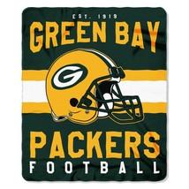 Green Bay Packers Fleece Throw Blanket 50x60 - $39.17