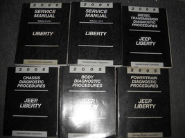 2005 Jeep Liberty Service Repair Shop Workshop Manual Set OEM 05 W Diagn... - $395.98