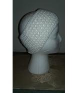Handmade Crochet Headband/Ear Warmer/White - $13.00