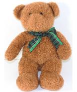 Cute TEDDY HERMANN GmbH GOLDEN BROWN TEDDY BEAR Stuffed Plush TOY WEST G... - $39.59