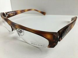 New ALAIN MIKLI AL 0927 AL0927 0002  53mm Havana Semi-Rimless Eyeglasses Frame - $349.99