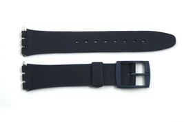12mm Ladies Dark Blue Replacement Watch Band Strap fits SWATCH watches - $8.46