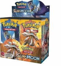Sun and Moon Booster Box Pokemon TCG Factory Sealed English, 36 Booster ... - $101.95