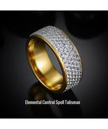 Elemental Control Spell Talisman-influential binding of Earth, Fire, Win... - $198.00