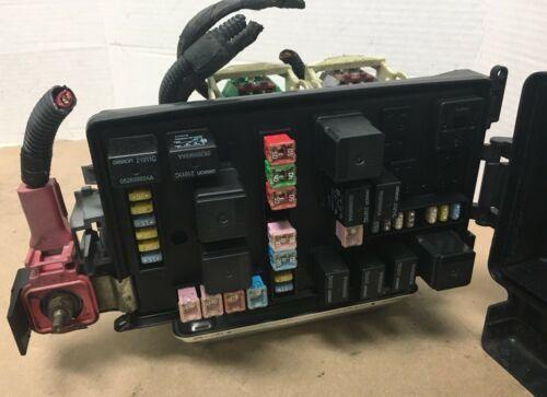 Integrated Power Fuse Box 2007 Chrysler 300 3 5 V6