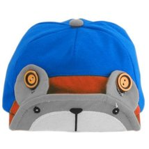 Cute Bear Infant Sun Protection Hat Baby Beaked Cap Toddler Floppy Cap Gray