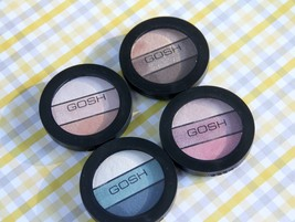 GOSH Eyelight Trio Make-Up 3 Eye Shadow Textures in Palette 4 Variations... - $12.15