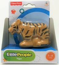 Fisher-Price Little People Tiger Tier Zoo Wildleben Safari Abbildung Spi... - $10.99