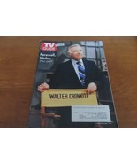 TV Guide Walter Cronkite Tribute Issue July 27-Aug. 9, 2009 - $4.95