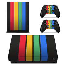 Colorful Columns Decal Xbox one X Skin for Xbox Console & 2 Controllers - $15.00