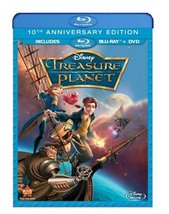 Disney Treasure Planet (Blu-ray Disc, 2012, 10th Anniversary Edition)