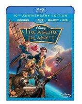 Disney Treasure Planet (Blu-ray Disc, 2012, 10th Anniversary Edition)