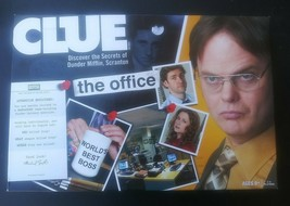 Clue The Office Edition 2009 Board Game - 100% All Pieces Included 2009 - $39.59