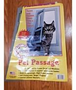 """Ideal Pet Products Pet Passage Screen Door 7.25"""" x 14.5"""" Opening Cat Scr... - $29.69"""