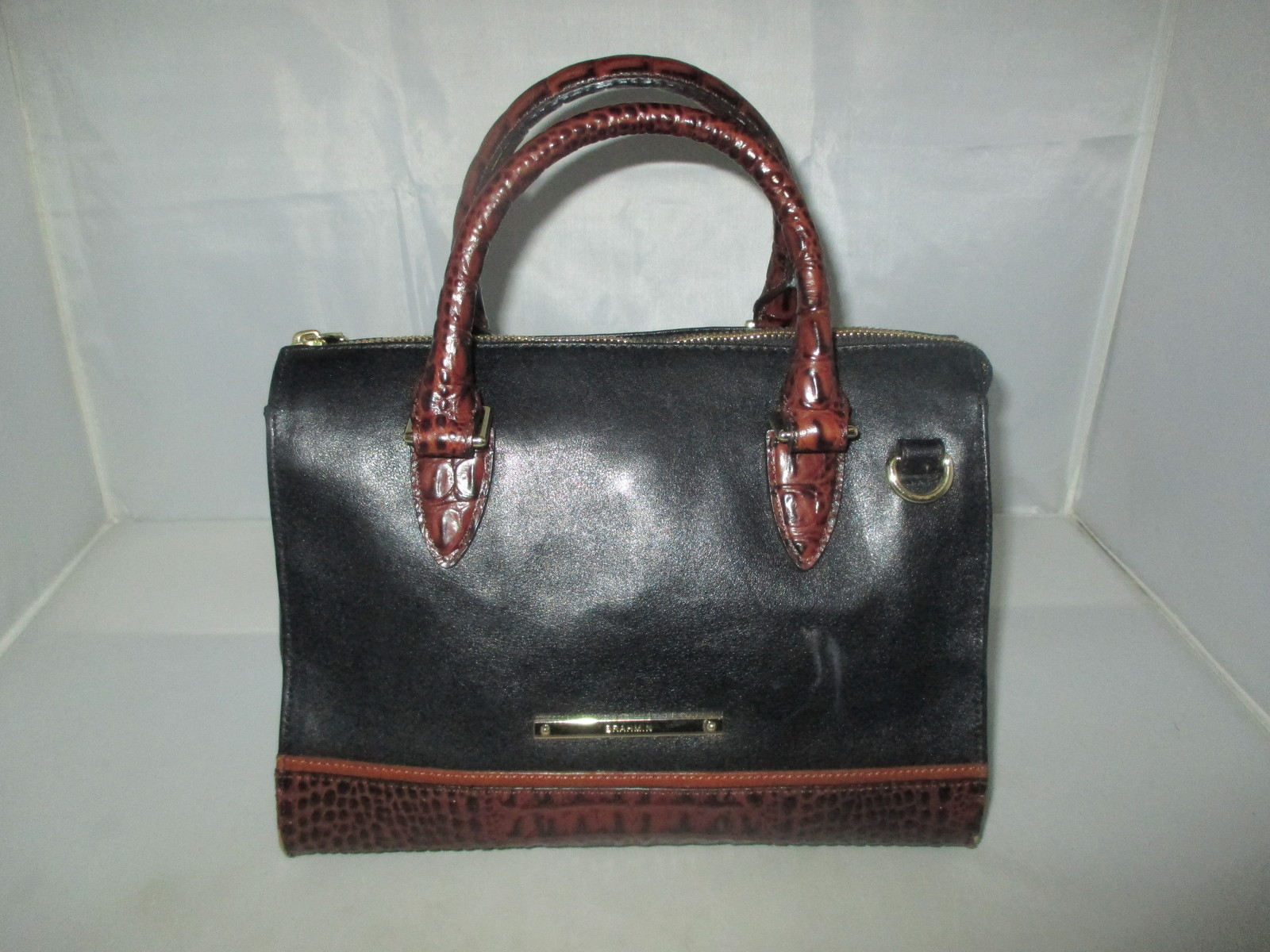 Brahmin Tuscan Tri-Texture Anywhere Convertible Satchel, Shoulder Bag,Tote $255 image 6