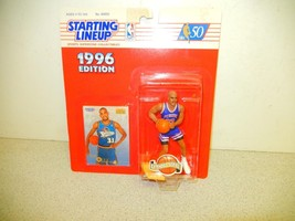 STARTING LINEUP -NBA - 1996 - DETROIT PISTONS-GRANT HILL -FT.WAYNE - NEW... - $6.29