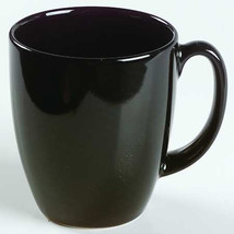 Vintage (1) Black Color Corelle By Corning Collectible Stoneware Mug - $7.19