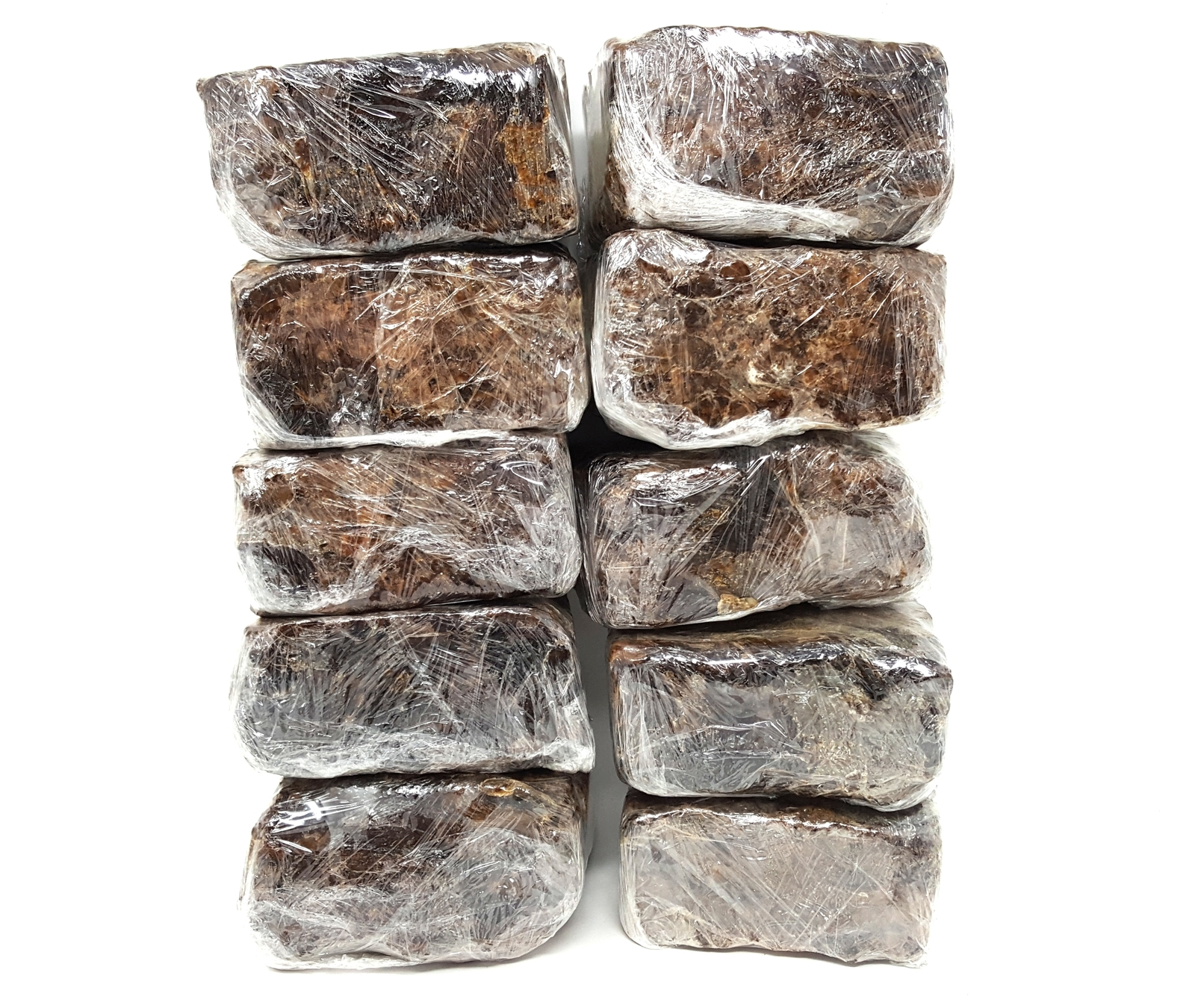 Primary image for 10 lb RAW ORGANIC AFRICAN BLACK SOAP Pure 100% All Natural Africa Bulk Wholesale