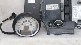 08 Mini Cooper R55 ECU ECM DME CAS3 Computer Ignition Switch Fob Tach SET - 6spd image 2