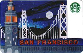 Starbucks 2014 San Francisco Full Moon Collectible Gift Card New No Value - $3.99