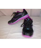 Women's Fila Ancerus 5 Athletic Running Shoes -- Size 8.5 US --Black & M... - $34.95