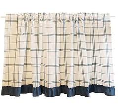 Black Temptation [D] Pastoral Style Kitchen Tier Curtain Short Window Cu... - $30.95