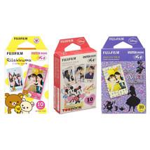 Rilakkuma & Mickey & Alice FujiFilm Instax Mini Film Polaroid 30 Instant... - $27.49