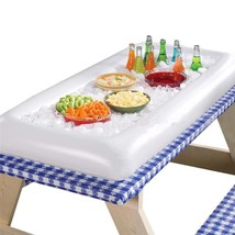 Cooler Buffet Serving Bar Ice Party Drink Table Inflatable Picnic Storag... - €20,66 EUR