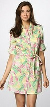 Lilly Pulitzer Eliot Wing Ding Of A Patch Shirt Sash Belt Dress XS - $99.00