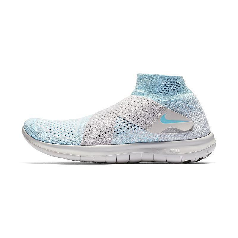 Details about Nike Free Run Flyknit Womens Running Training Shoes Blue 942839 401 Sizes 6 9